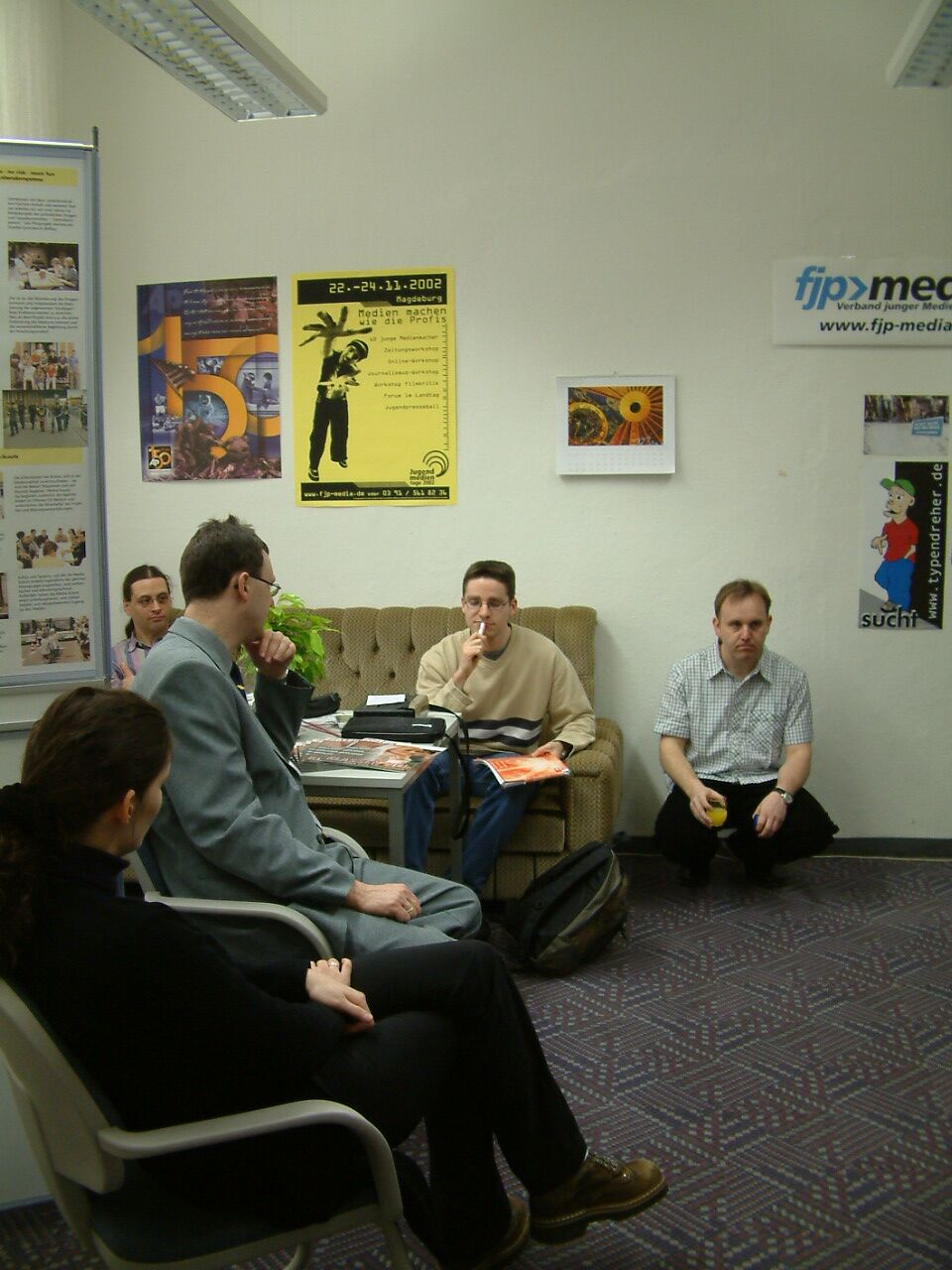Eröffnung des fjp>media-Infopunktes bei der AOK in Halle